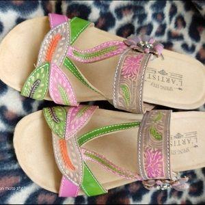 Spring Step L'Artiste sandals - never worn